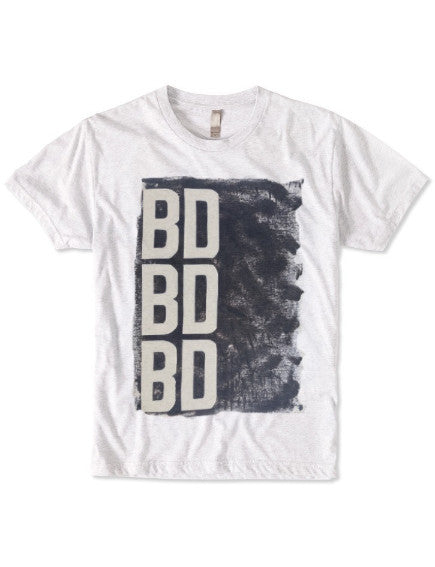Triple BD T-Shirt: ultimate modern fit, durable, breathable for workout or for casual, ring-spun cotton, recycled fabric, eco-friendly, sustainable