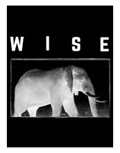 Wise Elephant T-Shirt: ultimate modern fit, durable, breathable for workout or for casual, ring-spun cotton, recycled fabric, eco-friendly, sustainable