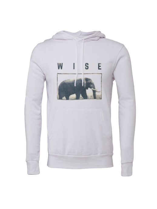 Unisex Elephant Fleece Hoodie - BY DEFINITION