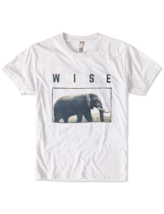 Organic Wise Elephant T-Shirt - BY DEFINITION