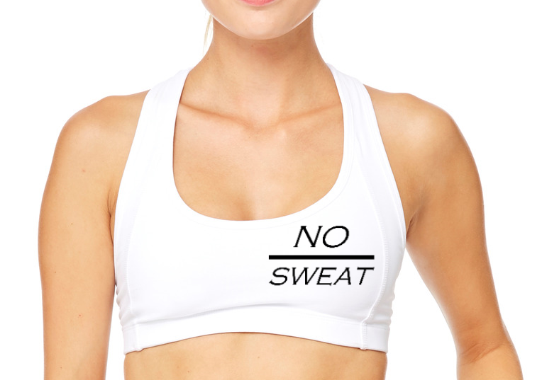 No Sweat Sports Bra - BY DEFINITION