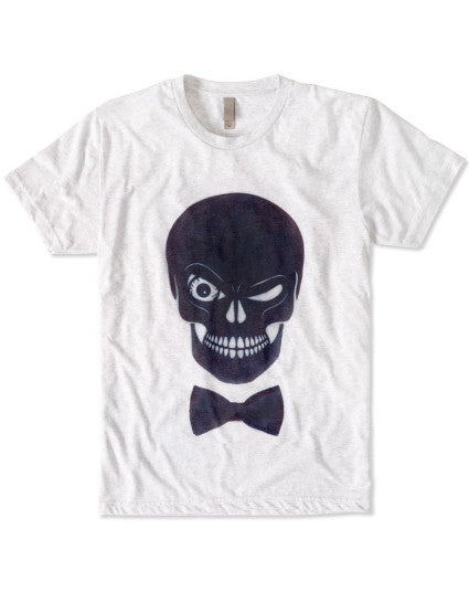 Mr. Skull T-shirt: ultimate modern fit, durable, breathable for workout or for casual, ring-spun cotton, recycled fabric, eco-friendly, sustainable