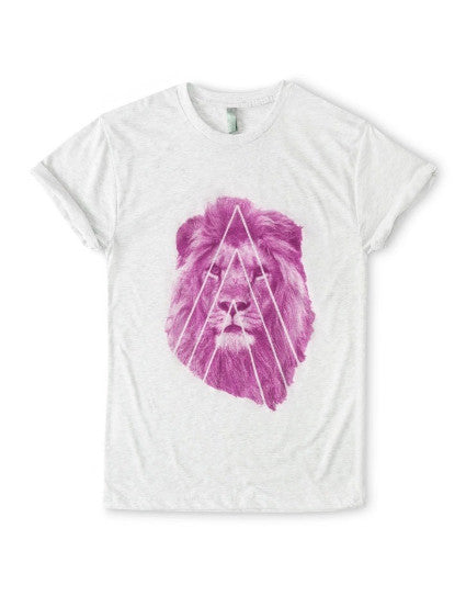 Pink Street Lion T-Shirt - BY DEFINITION