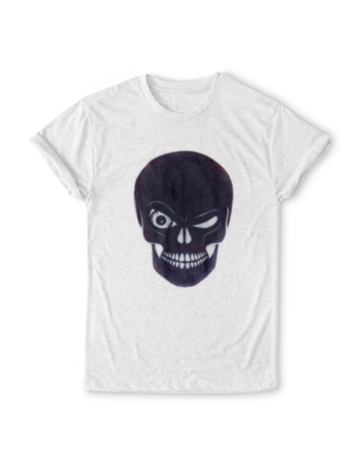 Organic Winking Skull T-Shirt - BY DEFINITION