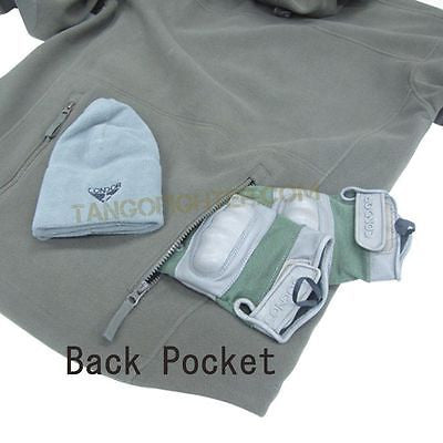 SIERRA Hooded Fleece Jacket OD Green