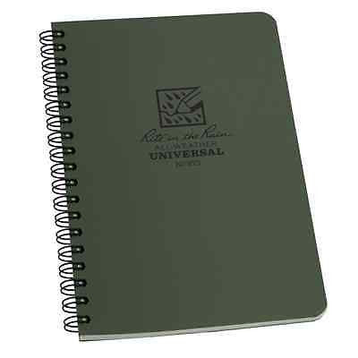 "Tactical Pocket Notebook 4 5/8 "" x 7"" GREEN"