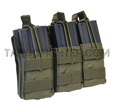 Triple Stacker Open-Top M4 Mag Pouch