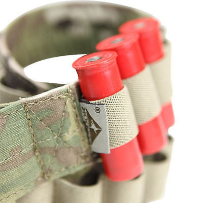 MULTICAM Shoulder worn 50 Rounds 12 GA Shotshell Shotgun Bandoleer
