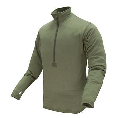 BASE II Zip Pullover OD Green