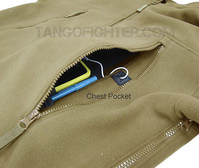 SIERRA Hooded Fleece Jacket TAN