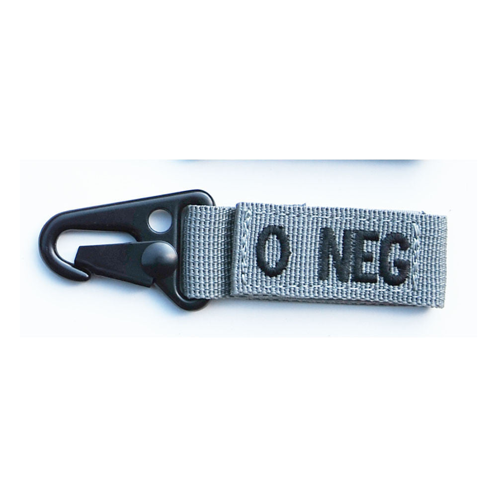 Blood Type Key Chain Negative ONLY