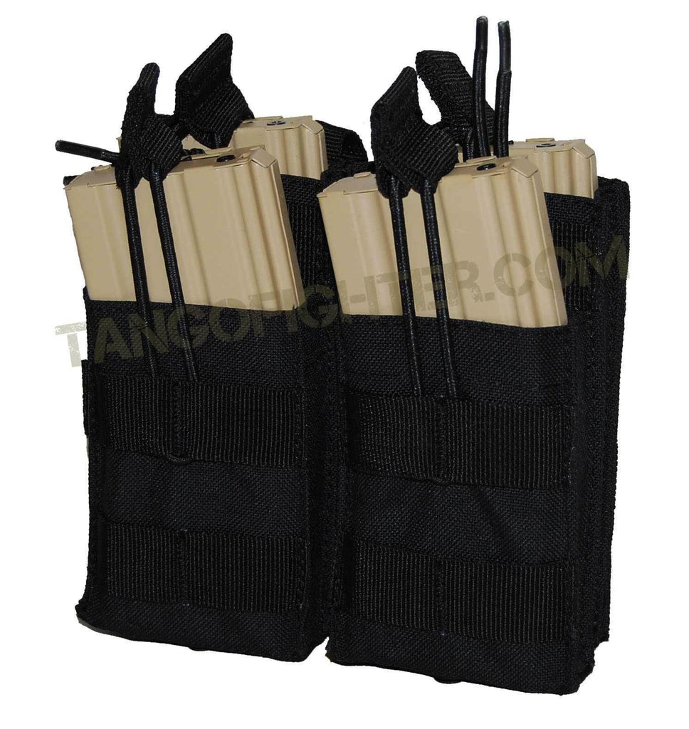 Double Stacker Open-Top M4 Mag Pouch