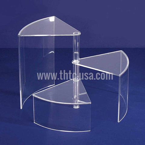 AC-1124-CL  Acrylic 3-Tier Display