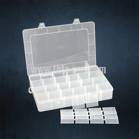 BX-8314  Frosted Plastic Organizer - 24 Compartments