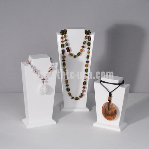 ND-6903 Glossy Wooden Necklace Display