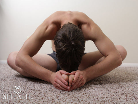 SHEATH Underwear Stretch Pose