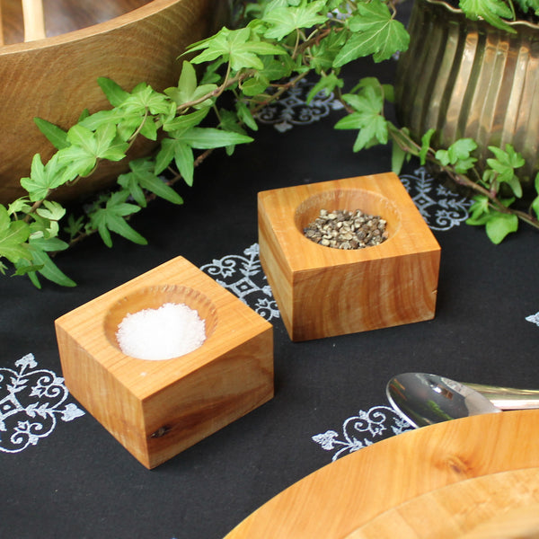 Square Salt and Pepper Bowls
