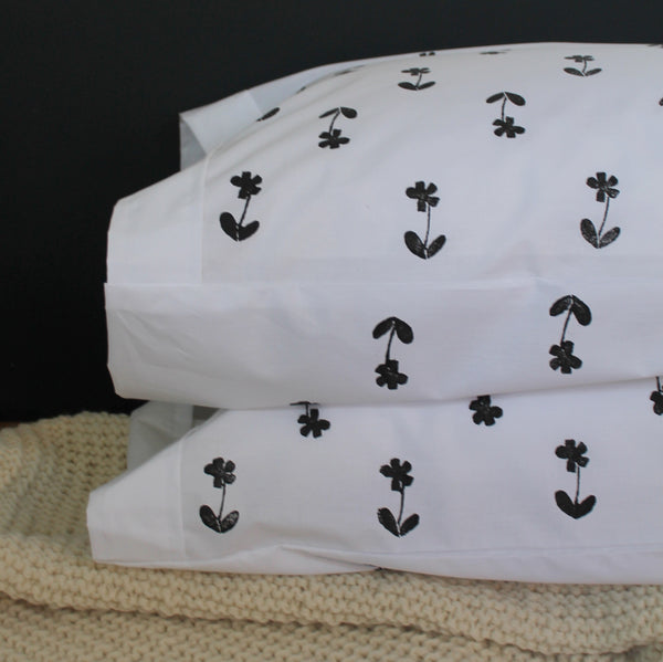 Daisy Pillowcases