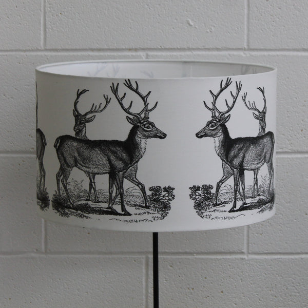 Stags Lampshade Standard