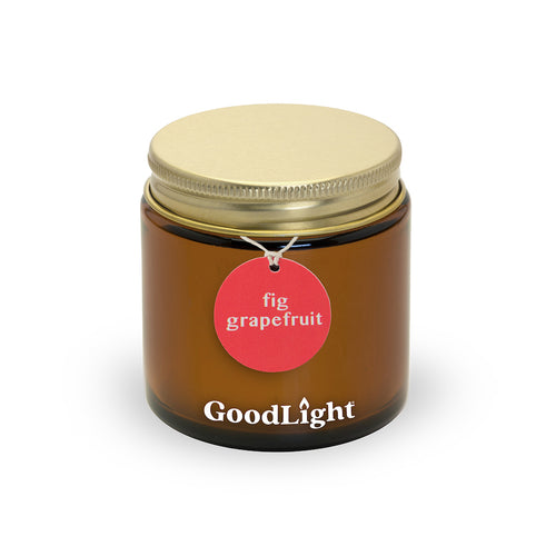 Fig Grapefruit 3 oz Apothecary Jar