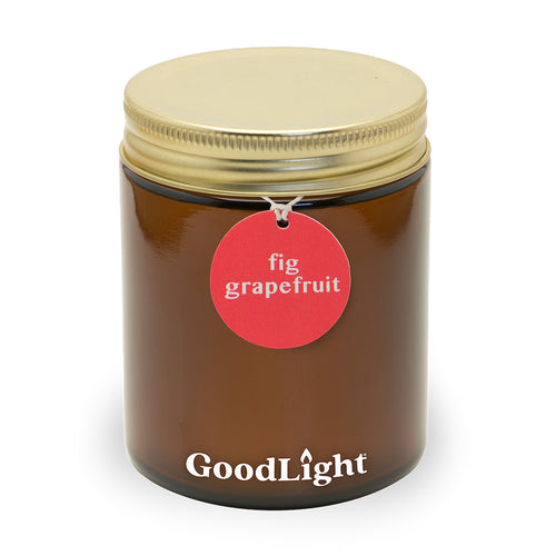 Fig Grapefruit 7 oz Apothecary Jar