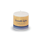 3 Inch Pillar Candle: Natural, Non-Toxic, Paraffin-Free - GoodLight