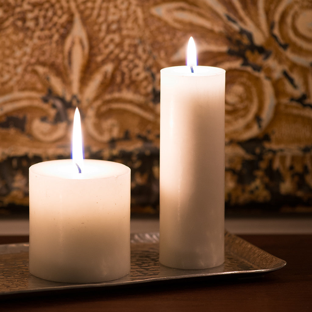Pillar Candle: Natural, Non-Toxic, Paraffin-Free - GoodLight