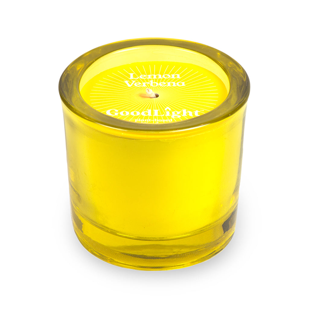 Lemon Verbena Poured Glass Votive - Case of 6
