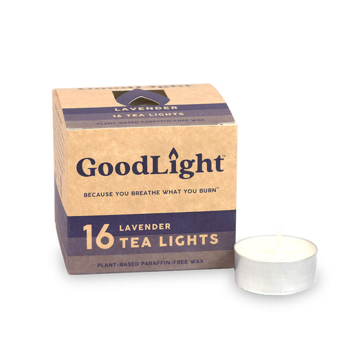 Lavender Tea Lights - 16-count