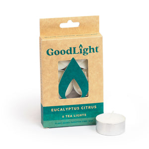 Eucalyptus Citrus Tea Lights - 6-count