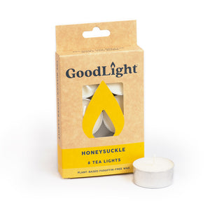 Honeysuckle Tea Lights - 6-count