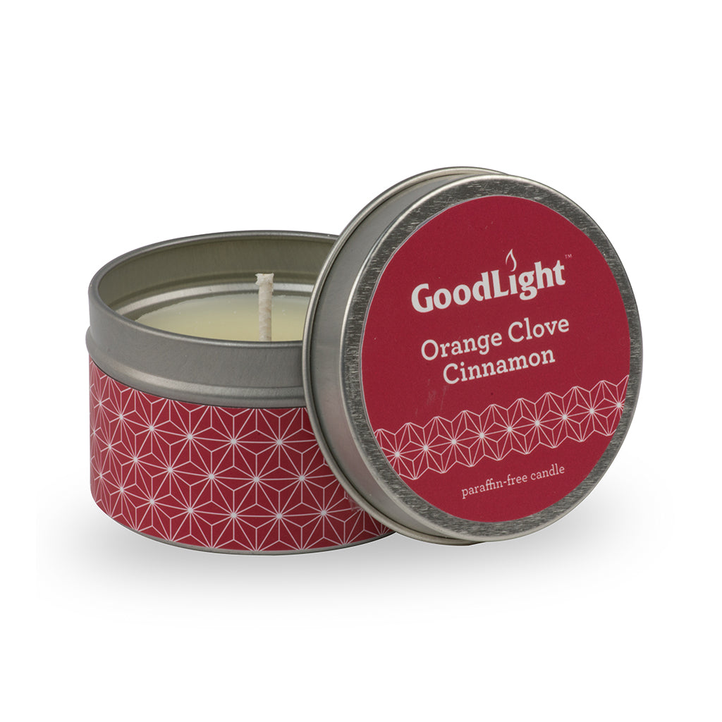 Orange Clove Cinnamon Tins