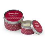 Orange Clove Cinnamon Geo Tin