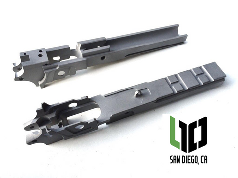Tactical Widebody 1911 100% - 7075 T-651 Aluminum