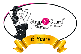 Strap N' Guard Pin Straps ~ Lingerie & Clothing Solutions