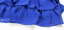 Royal Blue Ruffle