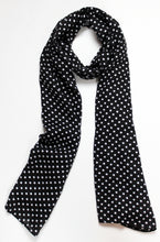 Black & White Polka Dots - Malai Lawn