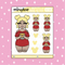 Tattooed Winnie Babe Doodle Sticker | Choose your Skin Tone!