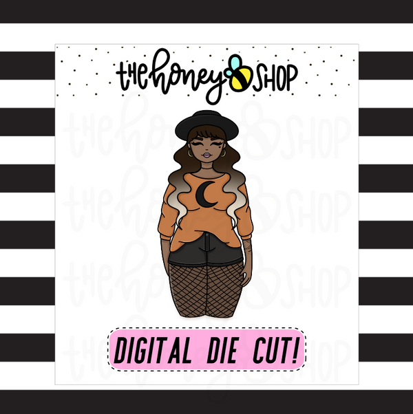 Witchy Fall Babe | DIGITAL DOWNLOAD | PICK YOUR SKIN TONE
