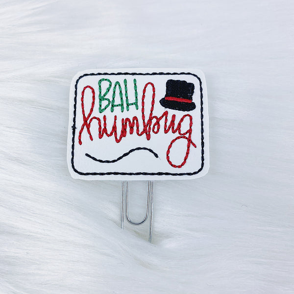 Bah Humbug Feltie | CHOOSE YOUR HARDWARE