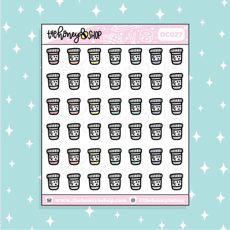 Oh, Honey Babe Doodle Sticker | PICK YOUR SKIN TONE