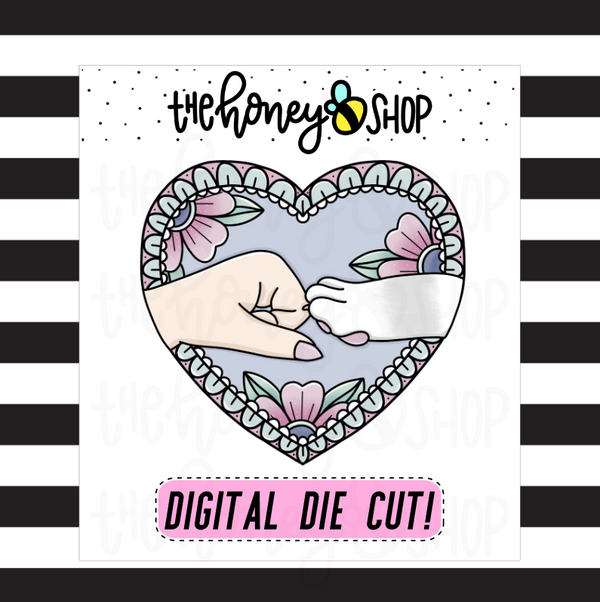 Furry Friends Heart | DIGITAL DOWNLOAD | PICK YOUR SKIN TONE