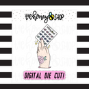 Sticker Collector Hand | DIGITAL DOWNLOAD | PICK YOUR SKIN TONE