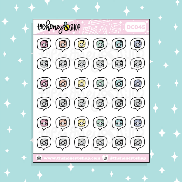Pastel Christmas Tree Babe Doodle Sticker | PICK YOUR SKIN TONE