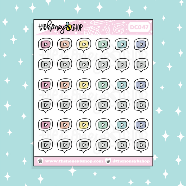 Traditional Christmas Baking Babe Doodle Sticker | PICK YOUR SKIN TONE