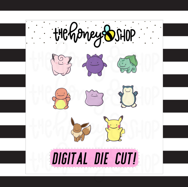 Ditto Pokemons | DIGITAL DOWNLOAD