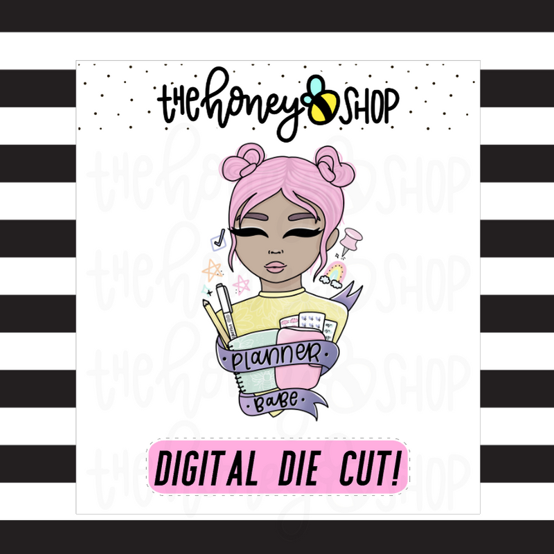 Planner Babe | DIGITAL DOWNLOAD | PICK YOUR SKIN TONE