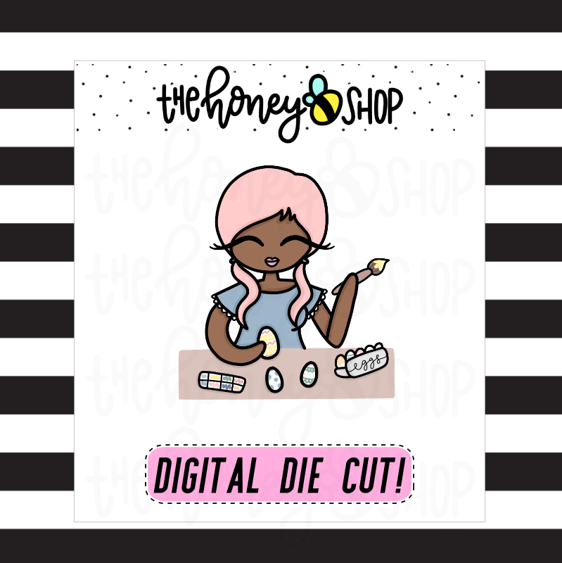 Easter Babe | DIGITAL DOWNLOAD | PICK YOUR SKIN TONE