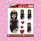 Tattooed Queen Babe Doodle Sticker | CHOOSE YOUR SKIN TONE