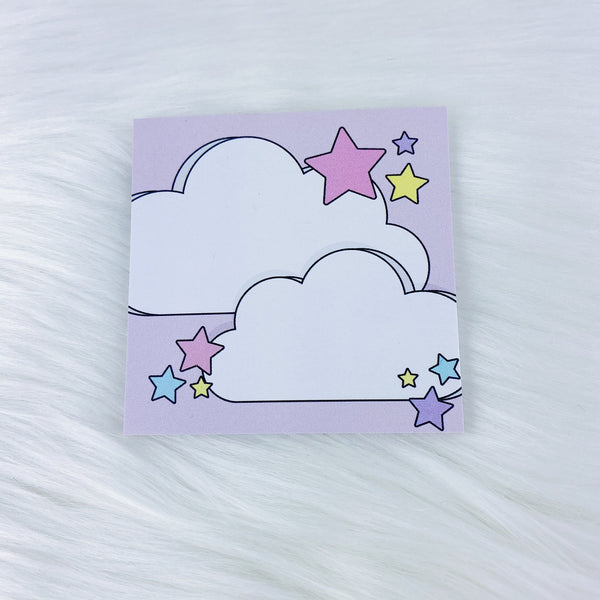 Colorful Clouds Sticky Note | 3x3 + 25 Sheets